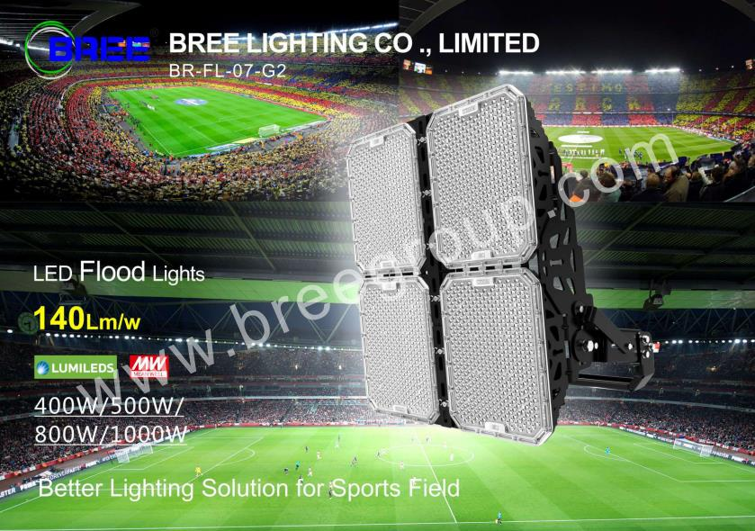 BREE 1000w led sports light-Generation 2