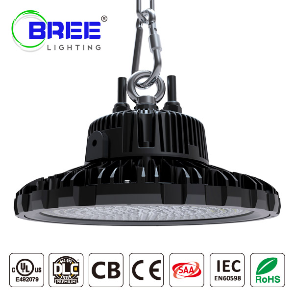 UFO LED HighBay Light 100W 135Lm/w  DLC UL Certified IP65 Waterproof