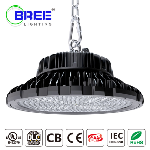 UFO LED HighBay Light 200W 135Lm/w  DLC UL Certified IP65 Waterproof