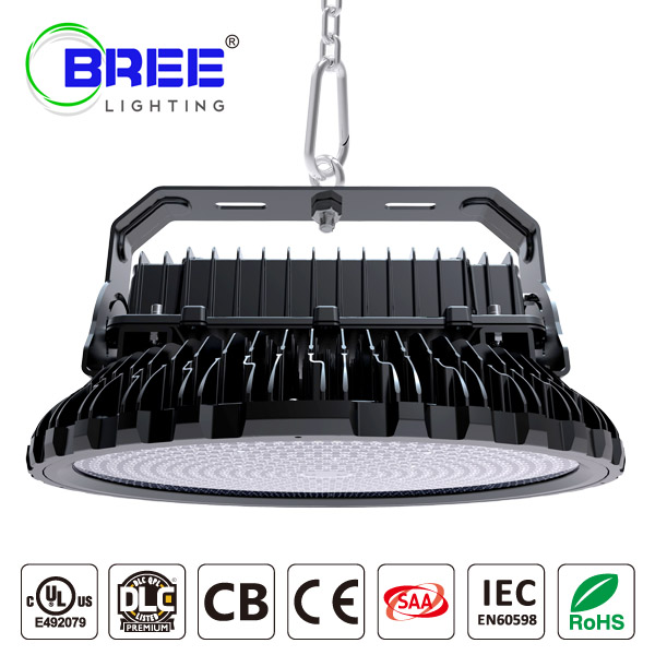 UFO LED HighBay Light 500W 135Lm/w  DLC UL Certified IP65 Waterproof