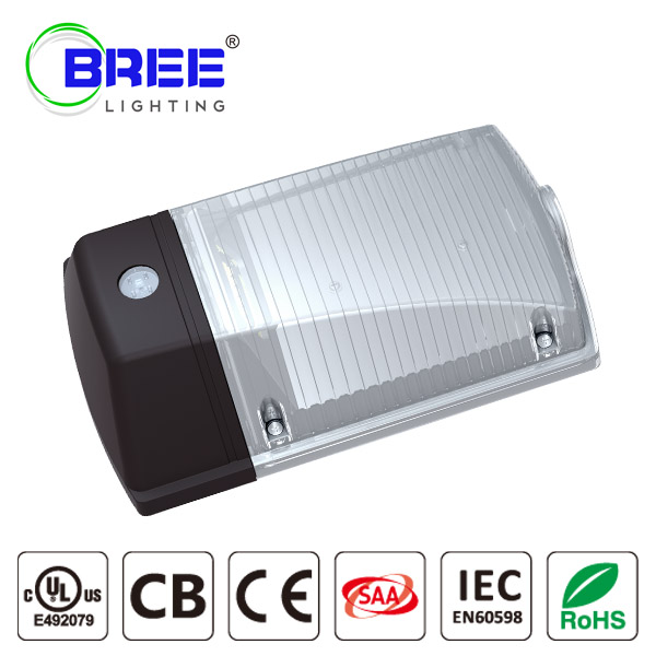 30W LED Wall Pack Light, Dusk-to-dawn Photocell, Waterproof IP65