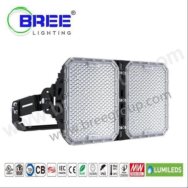 Stadium Lights Manufacturers: 500 Watt LED Sports Light-LED Sports Lighting Fixture